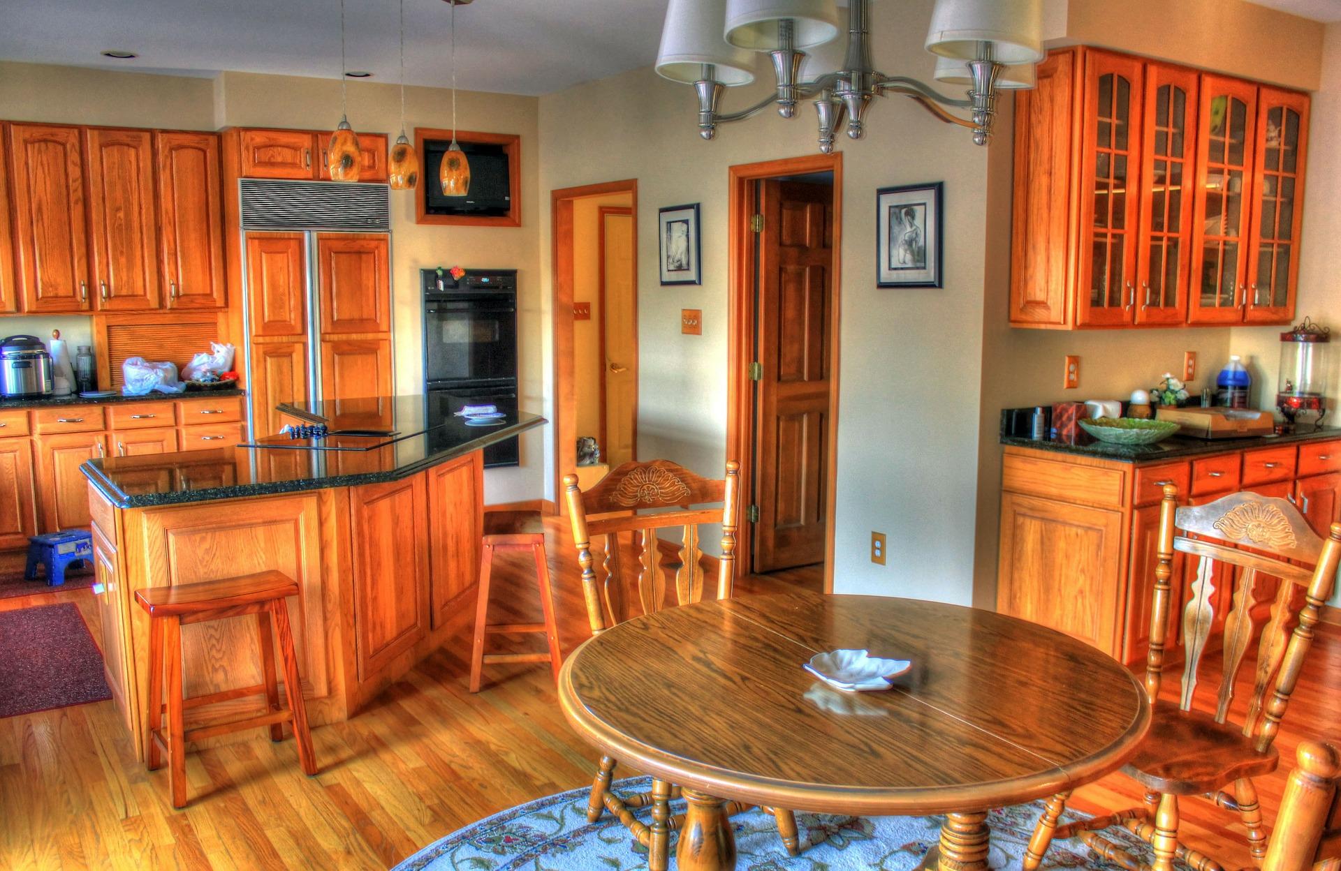 Aranżacja wnętrza w kuchni