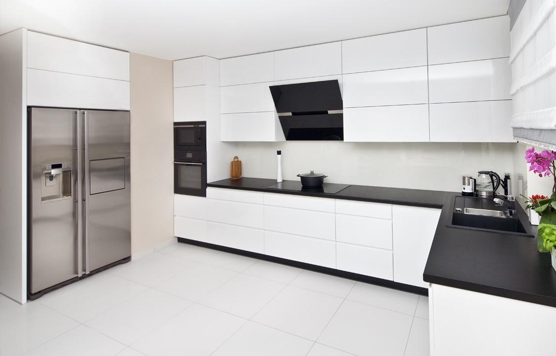 Wyjątkowa przestrzeń kuchenna w domu