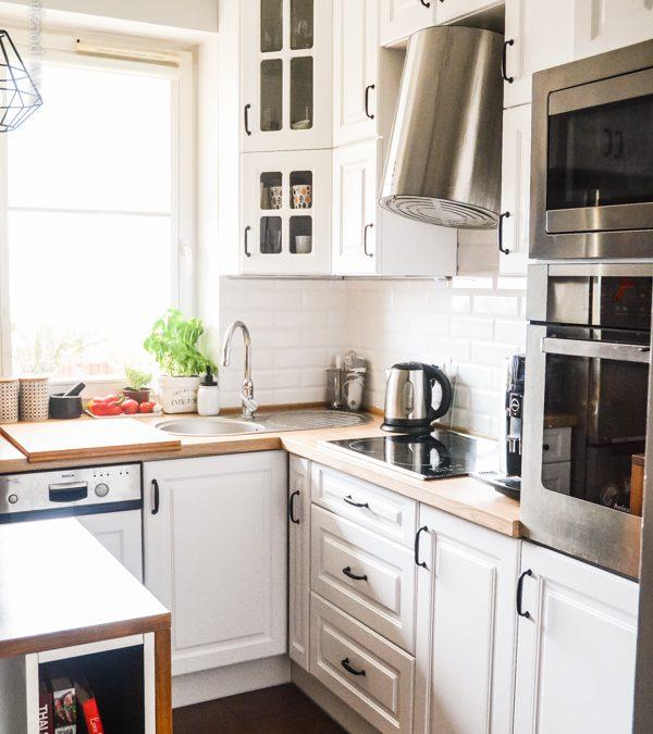 Szafki kuchenne w wąskiej kuchni